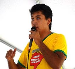 Companheiro Alexandre Takachi de Sa - Secretario Geral do Sintect-MS