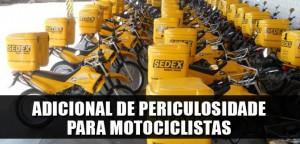 Destaque_adicional de periculosidade para motociclistas