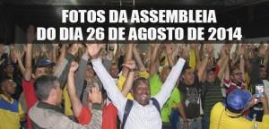 DESTAQUE_FOTOS DA ASSEMBLEIA DO DIA 26-08-2014
