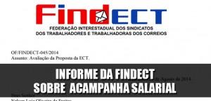 Destaque_Informe da FINDECT sobre a campanha salarial - 27-08-2014