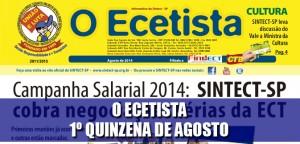 Destaque_O Ecetista - 1 quinzena de agosto de 2014