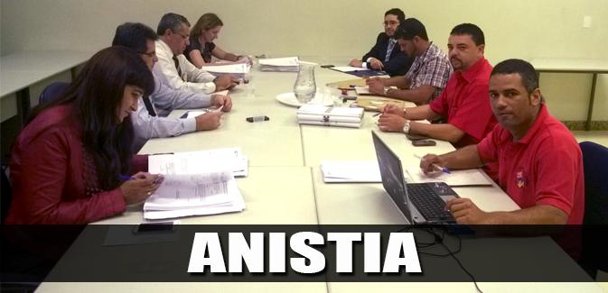 Destaque_grupo de trabalho de Anistia - 28-08-2014