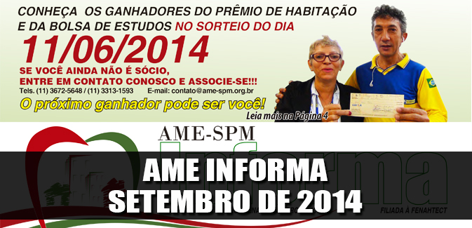 Destaque_Ame-Informa - setembro de 2014