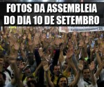 Destaque_fotos da assembleia do dia 10 de setembro - estado de greve