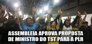 Destaque_assembleia aprova proposta do TST para PLR - 28-10-2014