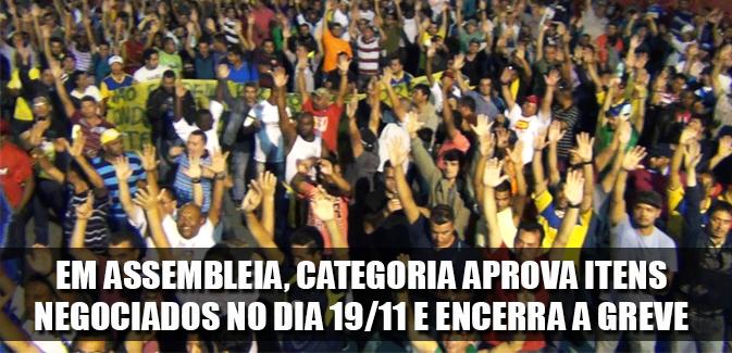 Destaque_assembleia dia 19-11-2014 encerra a greve