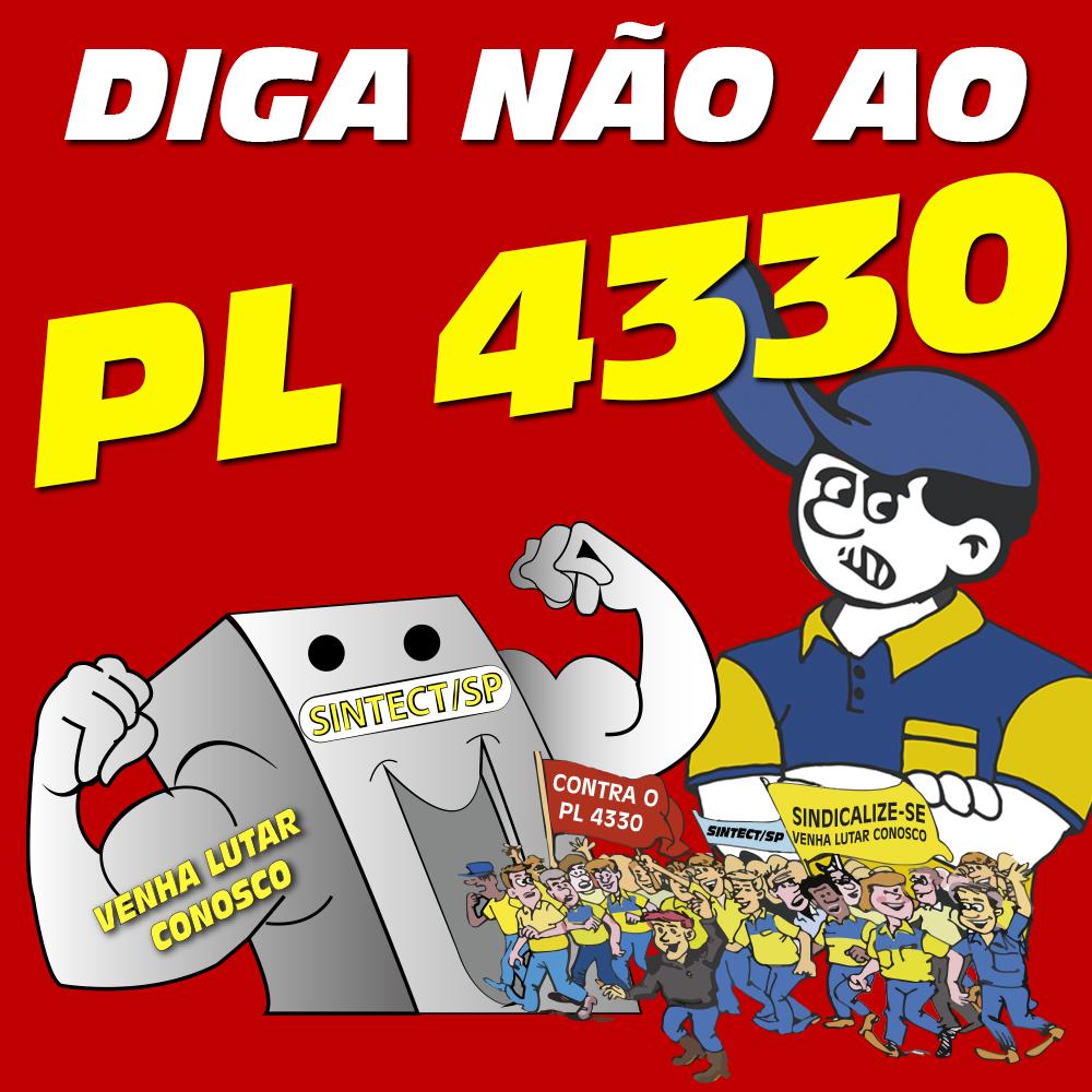 Diga nao ao PL 4330