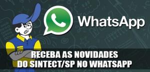 Destaque_Sintect-SP no WhatsApp
