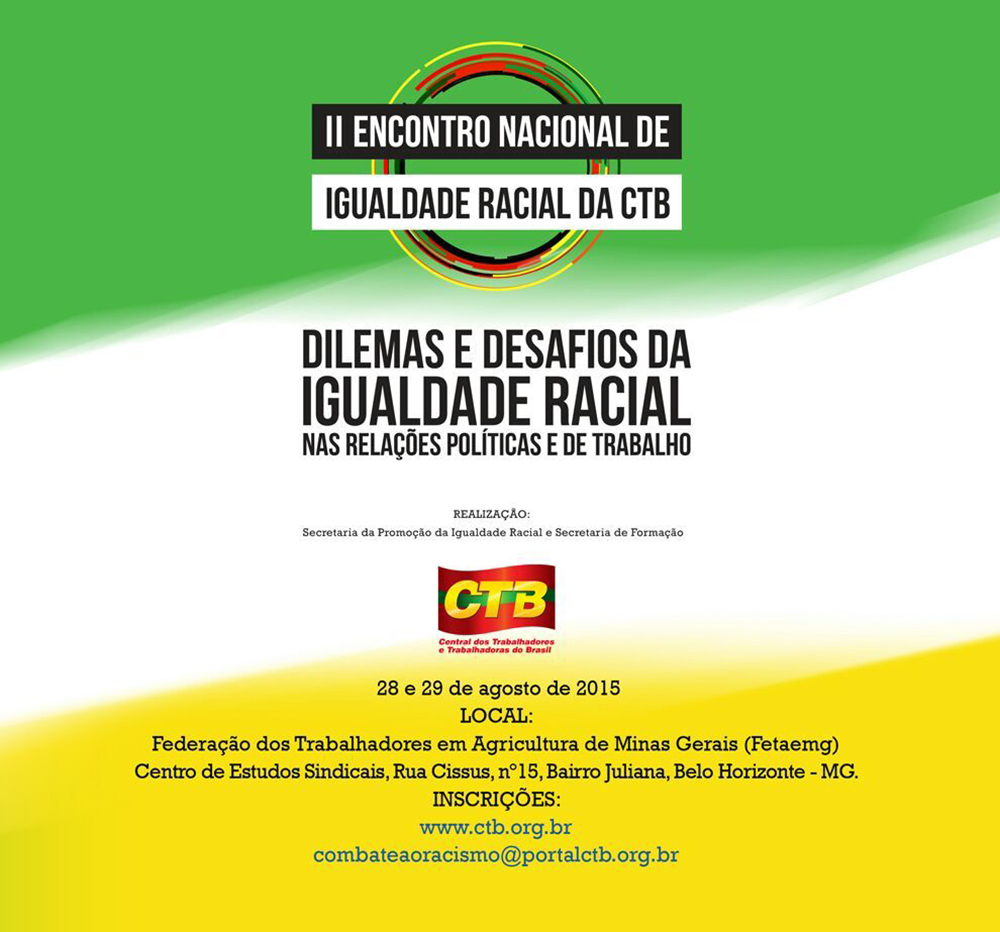 II Encontro Nacional de Igualdade Racial da CTB